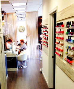 Beauty Image Spa has over 600 different shades of nail polish!