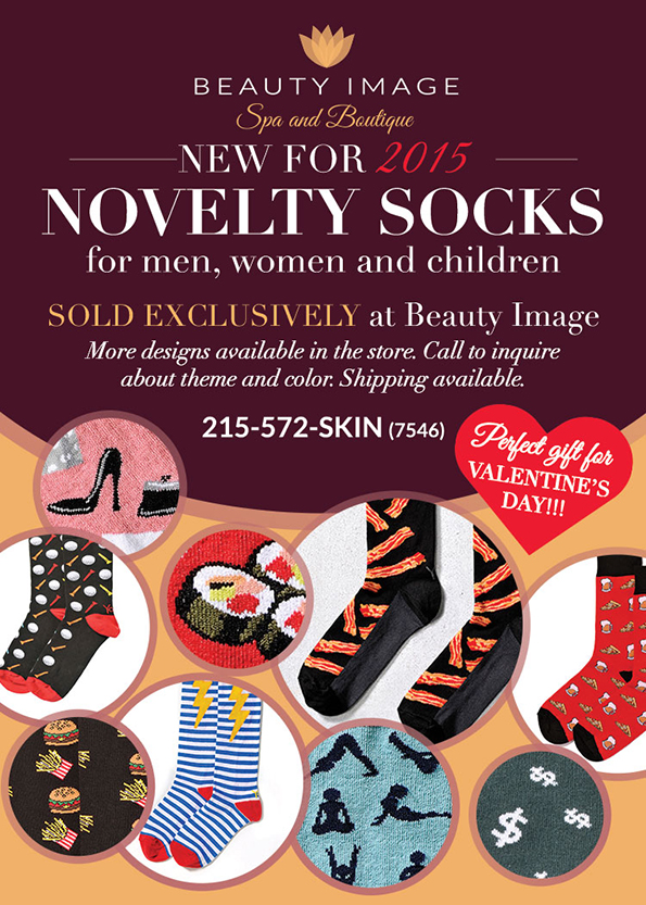 Valentine's Day - Novelty Socks - new in 2015