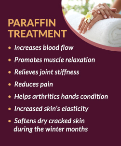 Paraffin Treatment at Beauty Image Spa Jenkintown, PA